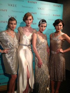 Tiffany & Co. and The Great Gatsby - Love these clothes, love this style, love this jewelry!!