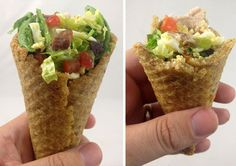 8 Everyday Foods Cleverly Disguised as Ice Cream Cones