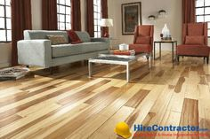 Hardwood floors cut down your work in maintaining them by staying good for a longer time Search a budget-friendly flooring contractor at http://www.HireContractor.com/search.php?tab=1