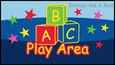 Primary school logo mat - ABC bricks