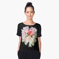 """Orchid"" Women's Chiffon Top by robelf | Redbubble"