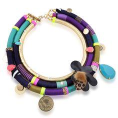 Chocokate, naszyjnik z masy plastycznej. #jewelery #handmade #galeriayes #chocokate #polish #design #neckles #sweet www.galeriayes.pl
