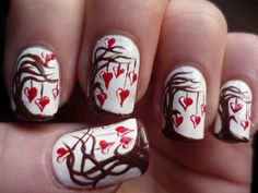 THIS IS CUTE   valentines day nail designs   valentines nail art designs - Google Search   Valentine's Day Nails