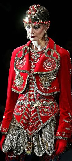 Russian Designer Clothing | Russian Designer Slava Zaitsev Style Russian Way Pinterest