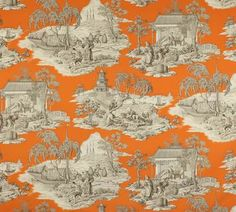 Manuel Canovas online shop Tortuga 04707, Fabrics, Upholstery, Curtain, Classic, Oriental, Fantasy, Cotton, Printed, Manuel Canovas - worldwide shipping, Ethnicchic.com - Ethnic Chic - Home Couture