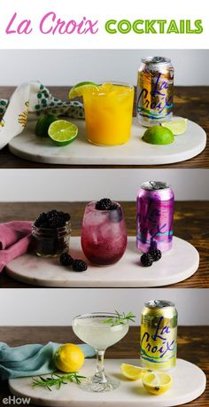 3 Refreshing La Croix Cocktails Perfect for Sunny Days Cocktails Champagne, Summer Cocktails, Cocktail Drinks, Red Wine Drinks, Liquor Drinks, Party Drinks, Fun Drinks, Beverages, Pool Drinks