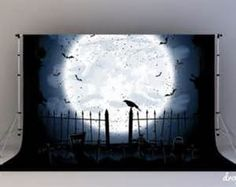 Immagine vettoriale stock 143069455 a tema Scary Halloween Night Background Crow Cemetery (royalty free) Halloween Prop, Halloween Fotos, Halloween Backdrop, Halloween Karneval, Halloween Vector, Halloween Pictures, Halloween Birthday, Holidays Halloween, Halloween Stuff