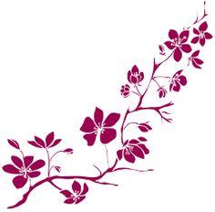 Resultado de imagem para desenho arvore de cerejeira