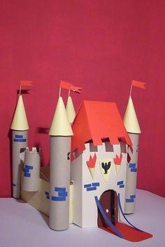 Mamma, mi costruisci un castello? - Come costruire un castello di carta per bambini