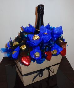bombones artesanales, champagne, chupetines, aniversarios