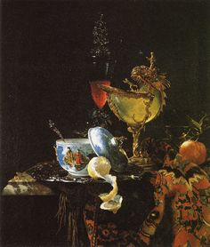Willem Kalf  Still life  1662  79.4 x 67.3 cm  Oil on canvas  Museo Thyssen-Bornemisza, Madrid