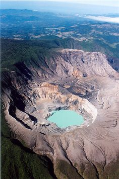 Volcan Poas, Costa Rica.
