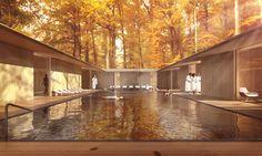 Meditation spa - Wellness Eco-resort - Czech Republic - 2016 - #inca_architectes #gilles_marty #architecture #design #landscape #archdaily #archilovers #next_top_architects #elcroquis #amc_magazine #dezeen #modernarchitect #designboom #architizer #archello