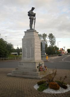 Lanarkshire War Memorial -The Scottish War Memorials site suggests this might be the main First World War Memorial for Wishaw (of which Newmains is sometimes administratively a part) and its surrounding villages.