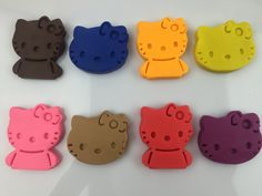 Play and Learn Colours with Play Doh Hello Kitty Molds Fun Creative for ...