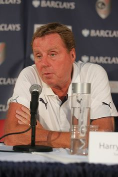 Harry Redknapp at the Barclays New York Challenge press conference, summer 2012, via Flickr.