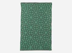 Hz0131 - Teppich, Luna, grün, 90% PVC/10% polyester