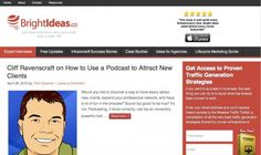 Podcasting for Ad Agency New Business - Podcasting is an effective tool for business development, networking, and a positioning of expertise.