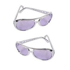 Private Island Party  - Purple RockStar Elvis Style Sunglasses 1134, $1.85- $3.99 Just because the king is gone does not mean that his sprit needs to be. Now you to can rock like the king with these Elvis style glasses. These sunglasses are the perfect costume accessory!