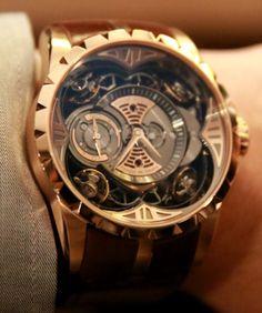 Roger Dubuis Excalibur Quatuor Watch Hands-On #delhibrands.com