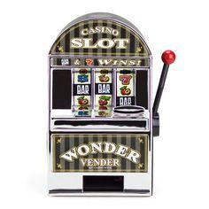 mini slot machine banks for centerpieces.
