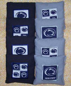 for ben - Appliqued Penn State Nittany Lions Regulation Cornhole Bags
