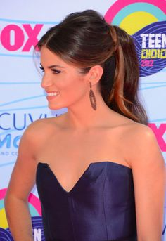 Get The Look: Nikki Reed's 60's-Style Ponytail