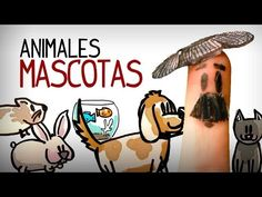 Vocabulário de animais em espanhol, aprender espanhol inicial - YouTube