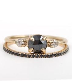 Catbird::shop by category::JEWELRY::Wedding & Engagement::Stoned:: Odile the Swan