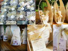 La finestra sul bosco Handmade: Anniversario di matrimonio: portaconfetti e bombon...