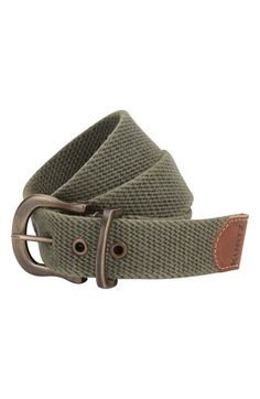 A. Kurtz 'Caleb' Web Belt available at #Nordstrom