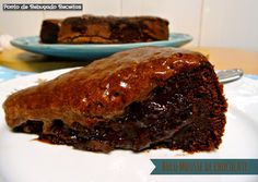 Ponto de Rebuçado Receitas: Bolo Mousse de Chocolate