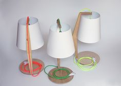 Handcrafted lamp made by KuikenDesign