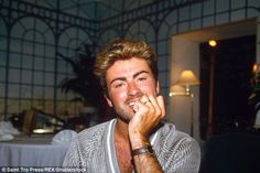George Michael, pictured in Los Angeles in 1988, later sold his Beverley Hills home...