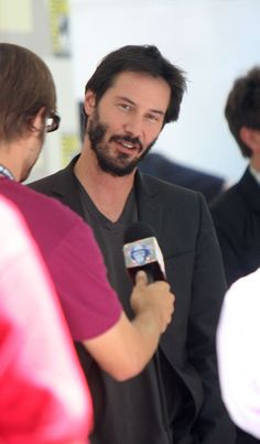 Keanu Reeves - Comic Con 2008 promoting The Day the Earth Stood Still