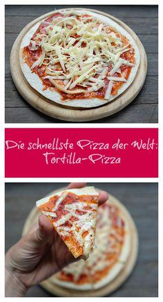 {Feierabend-Küche} Die schnellste Pizza der Welt - Schnelle und leckere Rezepte, die glücklich machen - Mein kleiner Foodblog