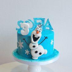 Olaf cake, Frozen