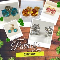 35% Off ALL JEWELRY,through this weekend only. We have an extended St. Patty's Day celebration for you at miabellajeweldesigns.com and miabellajeweldesigns,patternbyetsy.com : #etsyshop #etsylove