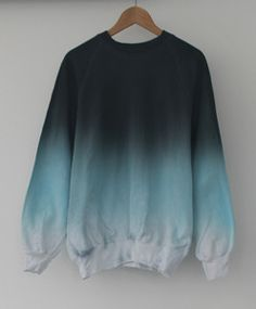 100% cotton.Hand dyed. One off uni-sex sweater.One size fits all.