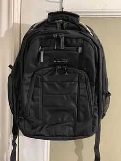 5e1e8eb394 100% Authentic Perry Ellis Travel Laptop Backpack Black   20.00 End Date   Saturday Jan