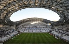 Roy Hodgson's England team will begin their tournament on June 11 against Russia at the Stade Velodrome in Marseille