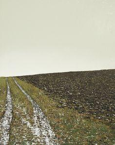 """Benoit Trimborn - Regards sur le Paysage """"Sur Un Chemin En Hiver"""""""
