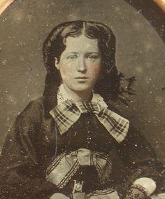 Sixth plate ambrotype of a pretty young lady, image has some typical age-related wear and some light marks but is generally in good shape, full case is split at the hinge. | eBay!