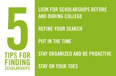 Whether you're a student or the parent of one, here are five tips to help you find college scholarships that are the best fit. http://go.regions.com/1Vfc4qO