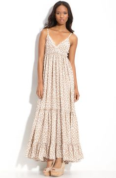 Rosegold Print Maxi Dress - I MUST HAVE THIS!