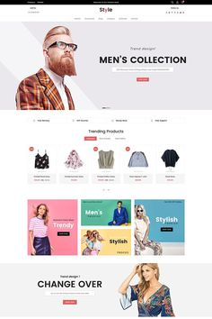 Style Fashion Shopify Theme - Shopify Website Builder - Build the Shopify Ecommerce site within 30 minutes. Design Web, Web Design Mobile, Web Design Services, Flat Design, Online Web Design, Ecommerce Website Design, Website Design Layout, Website Design Inspiration, Blog Layout