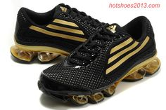 Adidas Bounce 2012 Titan Mens Black Gold Hypermotion - Click Image to Close