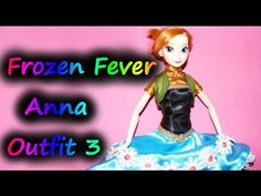 How to make Frozen Fever Anna Outfit - Part 3 - Anna's Vest / Waistcoat - Sewing Tutorial