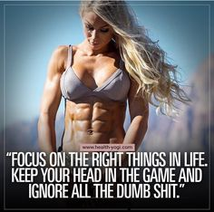 IFBB Bikini pro Frida Paulsen Quote Focus on the right things in life – Fitness motivation - Star Fitness Workouts, Sport Fitness, Fitness Diet, Fitness Goals, Health Fitness, Sport Motivation, Fitness Motivation Quotes, Diet Motivation, Bodybuilding Motivation Quotes