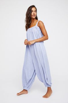 Intimately Chambray Take It Easy Romper at Free People Clothing Boutique